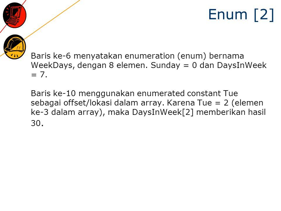 Enum [2]